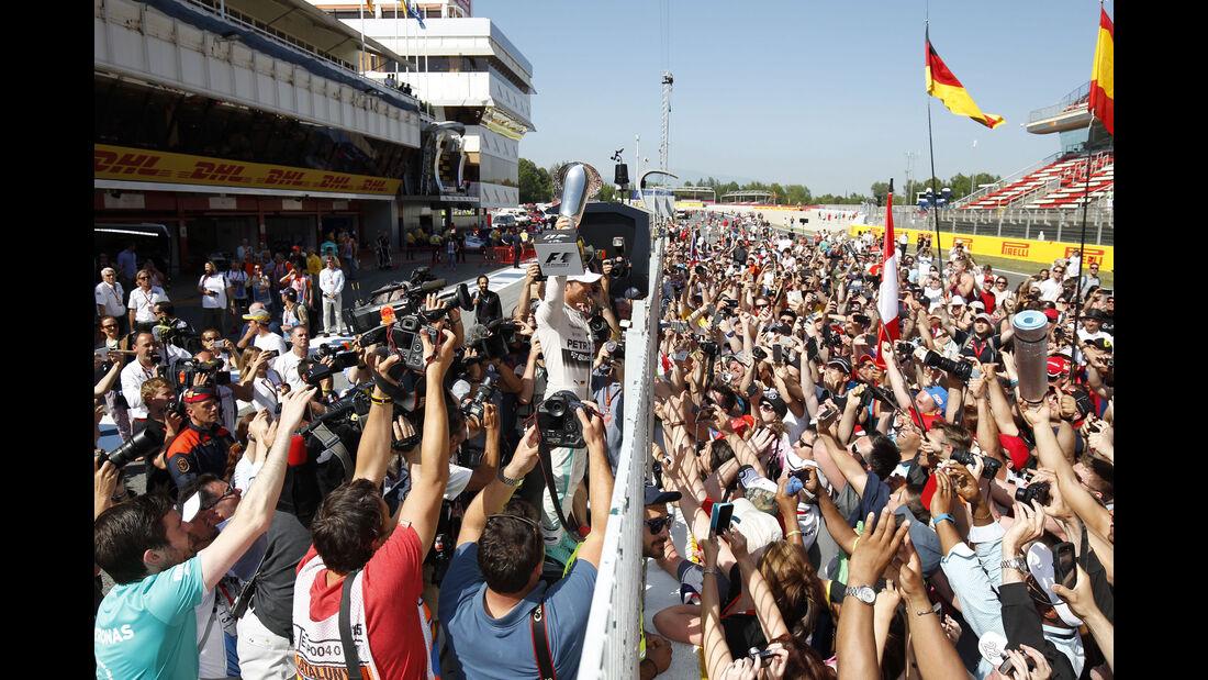 Formel 1 - Nico Rosberg - GP Spanien 2015