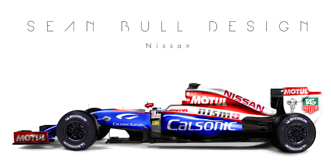 Formel 1 - Nissan - Fantasie-Teams - Sean Bull Design