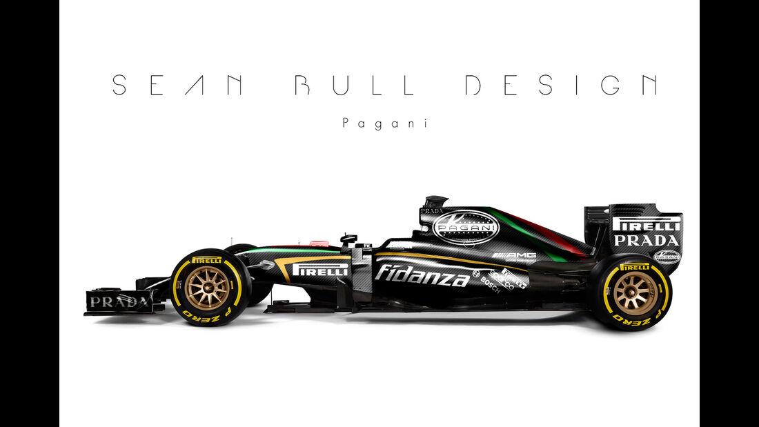 Formel 1 - Pagani - Fantasie-Teams - Sean Bull Design