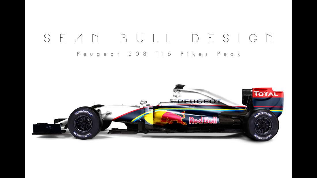 Formel 1 Peugeot - Fantasie-Teams - Sean Bull Design