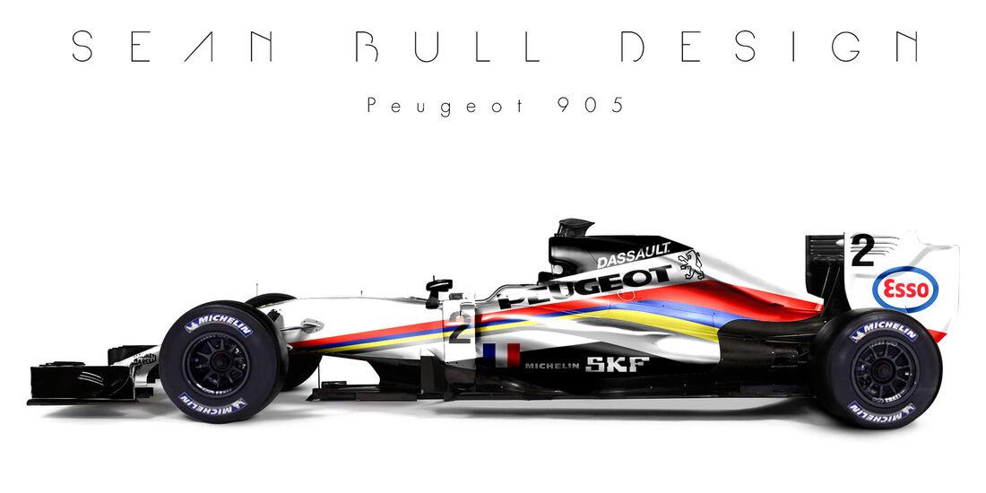 Formel 1 - Peugeot - Fantasie-Teams - Sean Bull Design