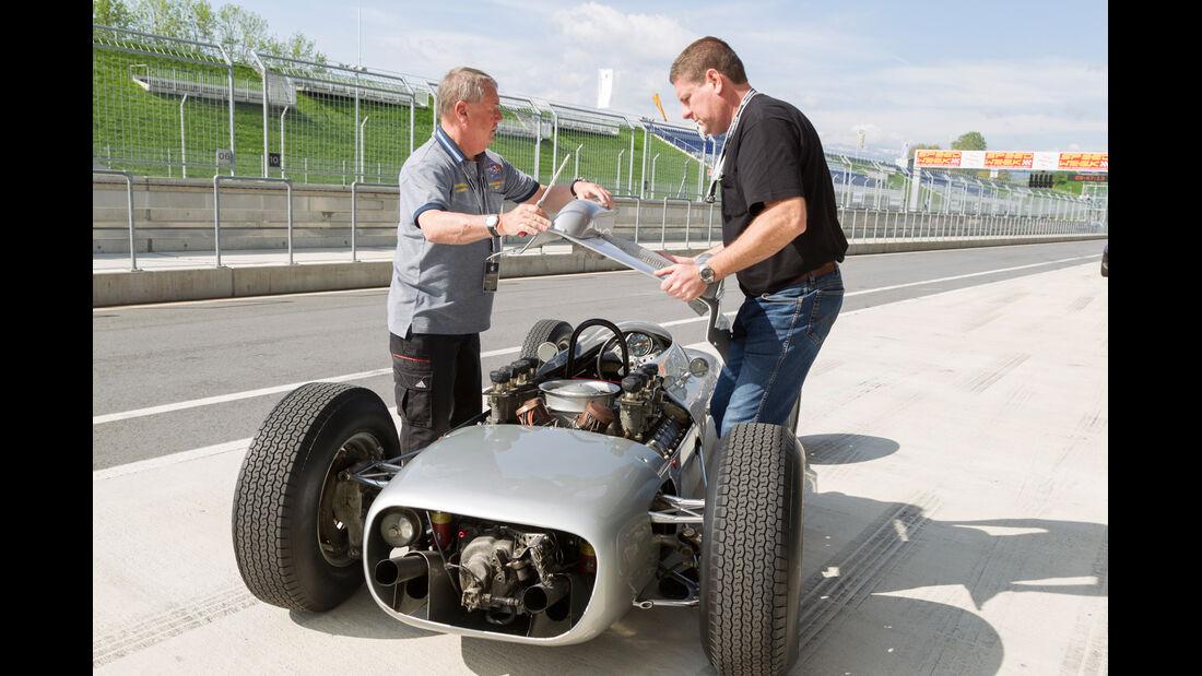 Formel 1-Porsche 804, Chassis