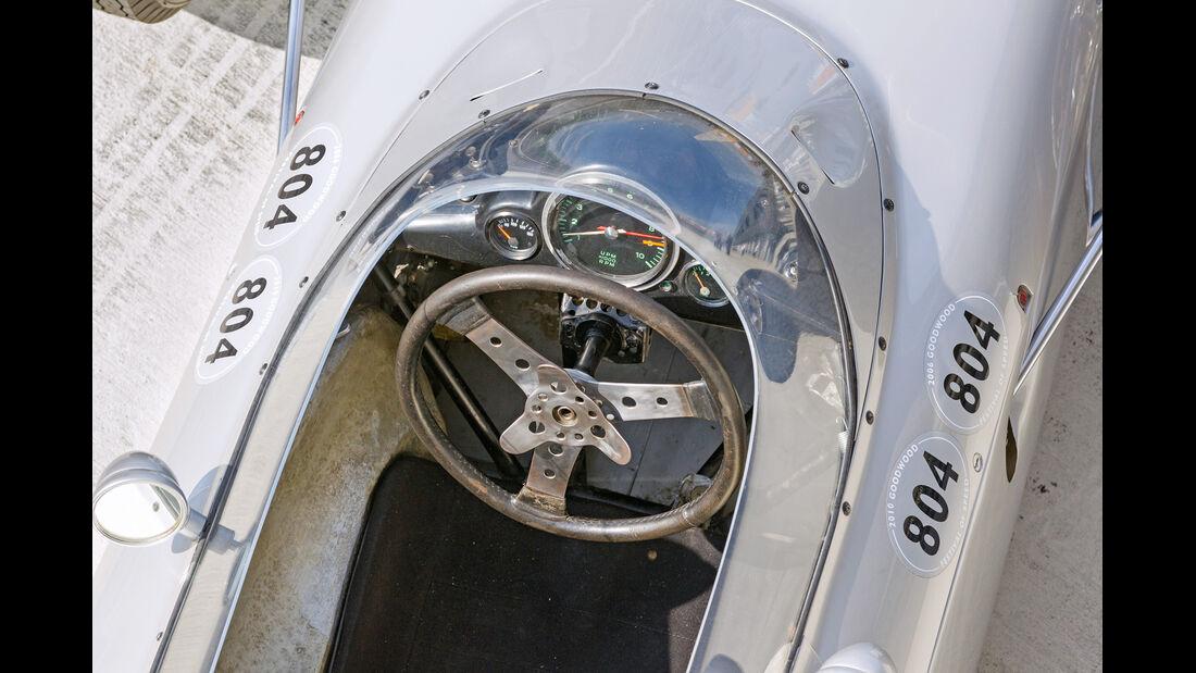 Formel 1-Porsche 804, Cockpit