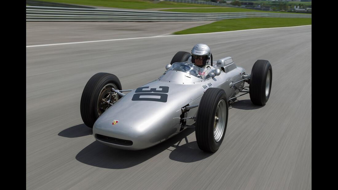 Formel 1-Porsche 804, Frontansicht
