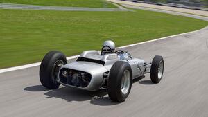 Formel 1-Porsche 804, Heck