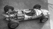 Formel 1-Porsche 804, von oben