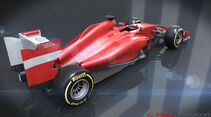 Formel 1 Reglement 2014 - Ferrari - Piola Animation