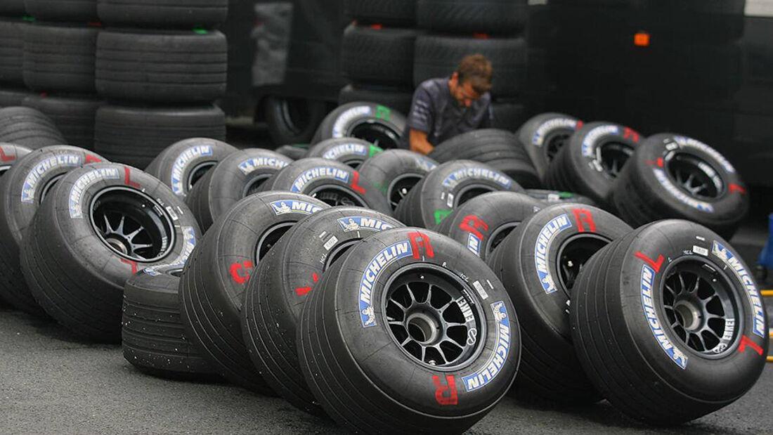 Formel 1 Reifen Michelin