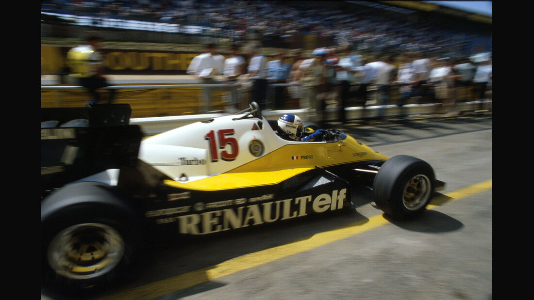 Formel 1 - Renault RE40 - V6-Turbo - 1983