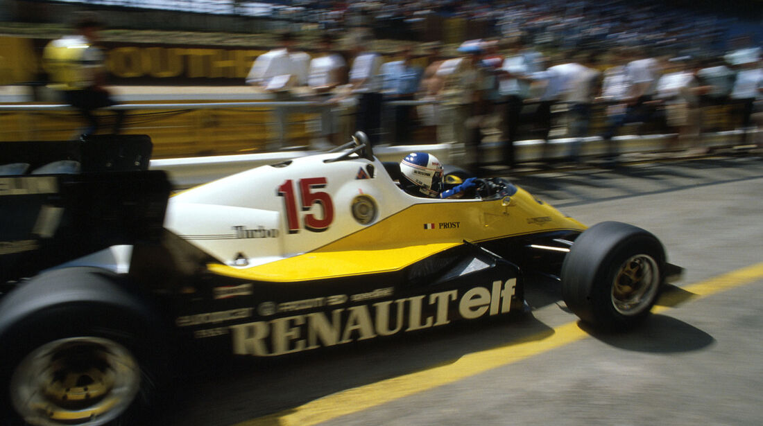 Formel 1 - Renault RE40 - V6-Turbo - 1983