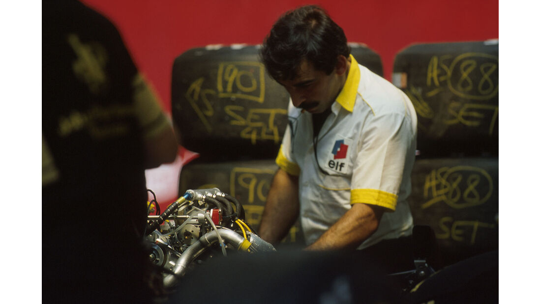 Formel 1 - Renault- V6-Turbo - 1985
