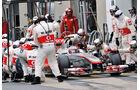 Formel 1 Rennen, Boxengasse