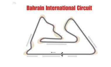 Formel 1 - Rennstrecke - Bahrain