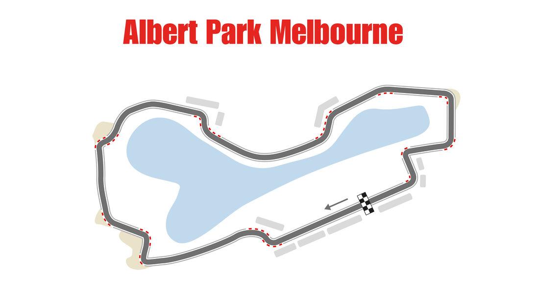 Formel 1 - Rennstrecke - GP Australien - Melbourne
