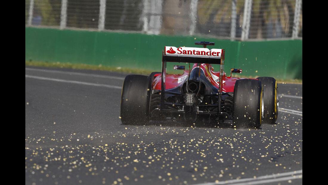 Formel 1 - Saison 2014 - GP Australien - Alonso - Ferrari