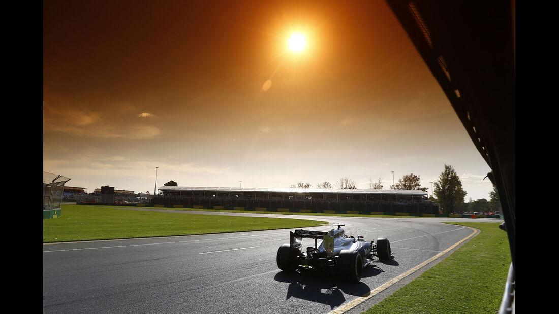 Formel 1 - Saison 2014 - GP Australien - Button - McLaren