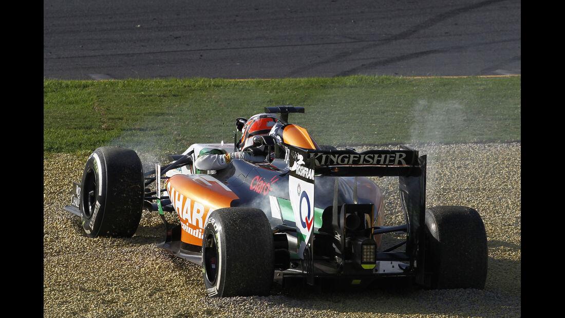 Formel 1 - Saison 2014 - GP Australien - Hülkenberg - Force India