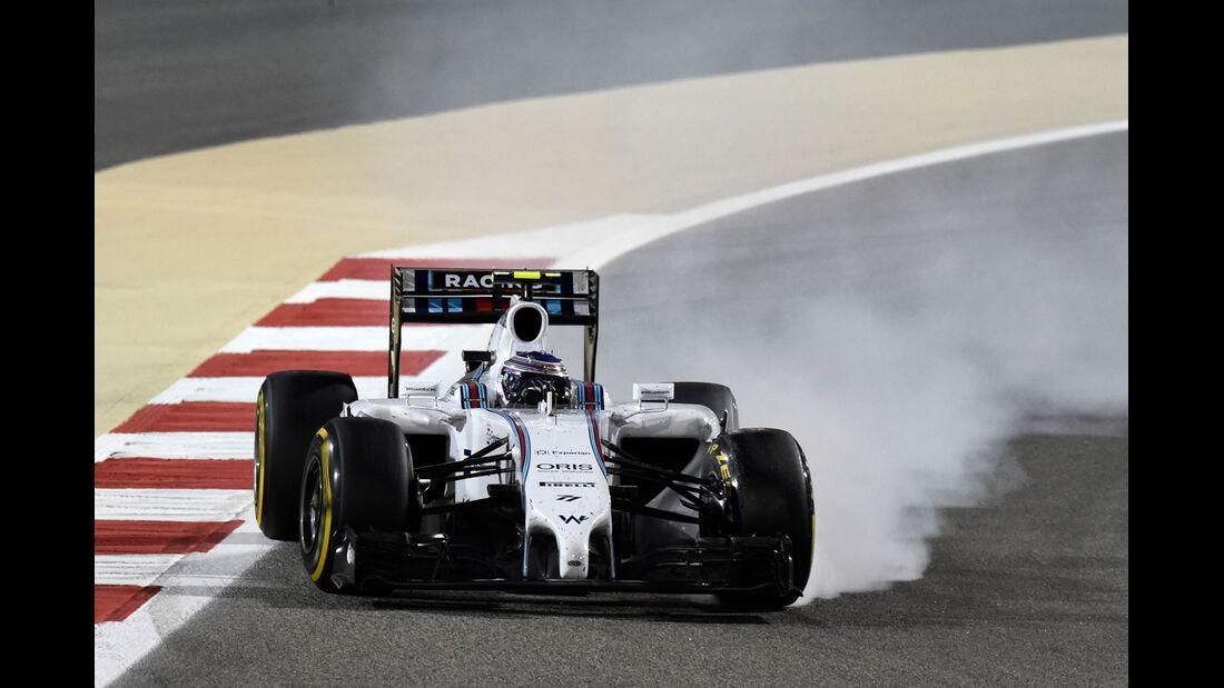 Formel 1 - Saison 2014 - GP Bahrain - Bottas - Williams