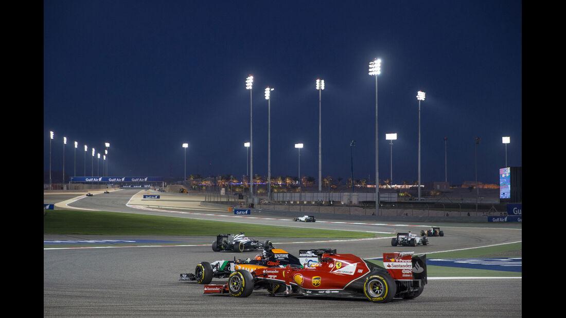 Formel 1 - Saison 2014 - GP Bahrain - Fernando Alonso - Ferrari