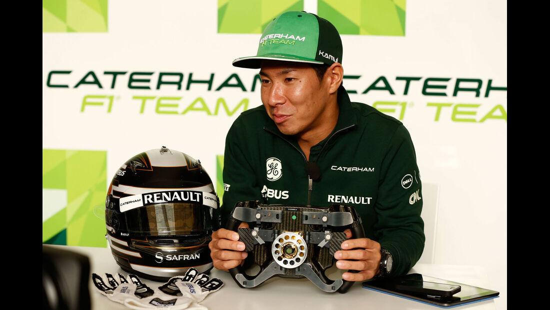 Formel 1 - Saison 2014 - GP Bahrain - Kobayashi - Caterham