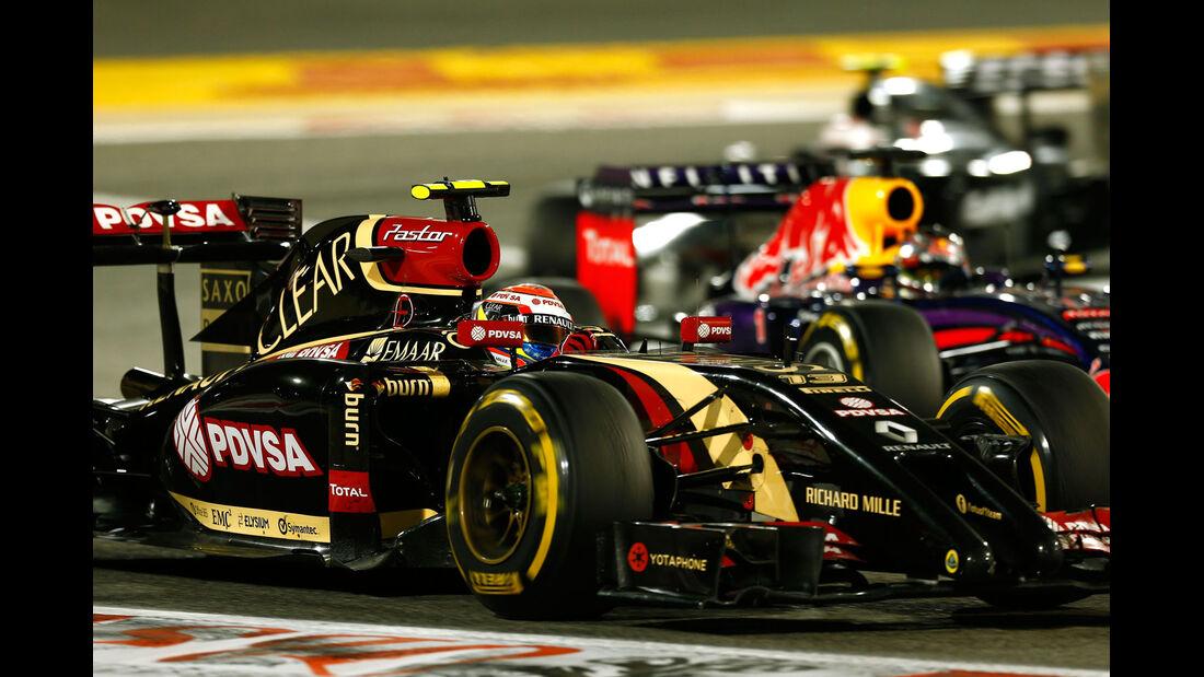 Formel 1 - Saison 2014 - GP Bahrain - Maldonado - Lotus