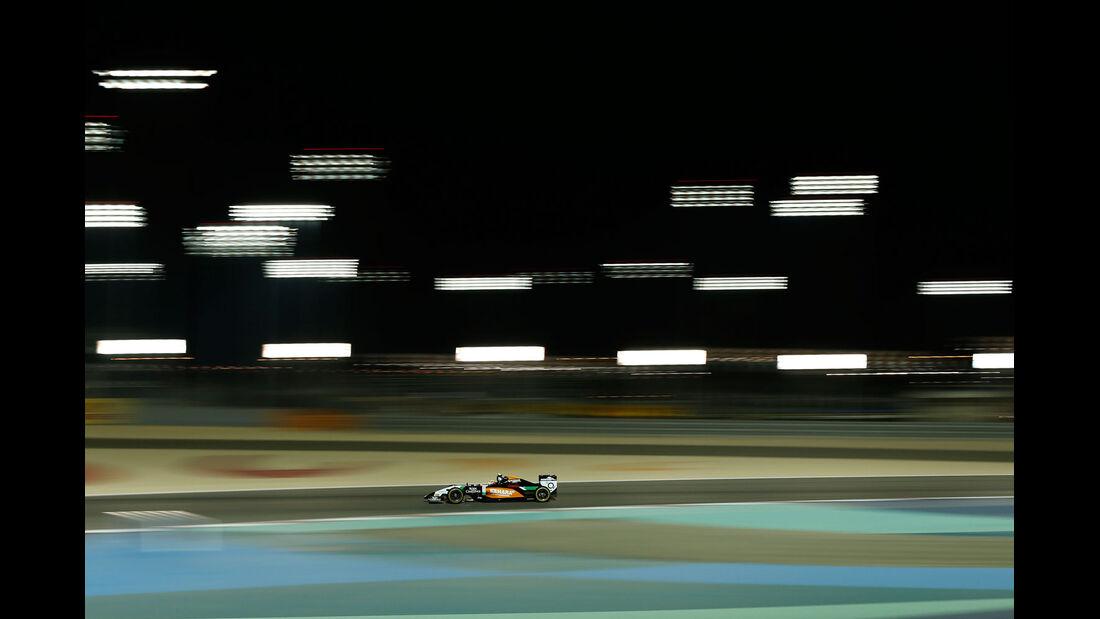 Formel 1 - Saison 2014 - GP Bahrain - Perez - Force India