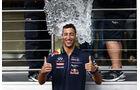 Formel 1 - Saison 2014 - GP Belgien - Ricciardo - Red Bull