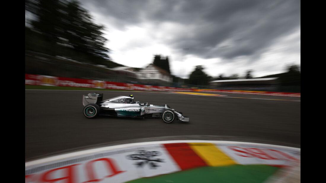 Formel 1 - Saison 2014 - GP Belgien - Rosberg - Mercedes
