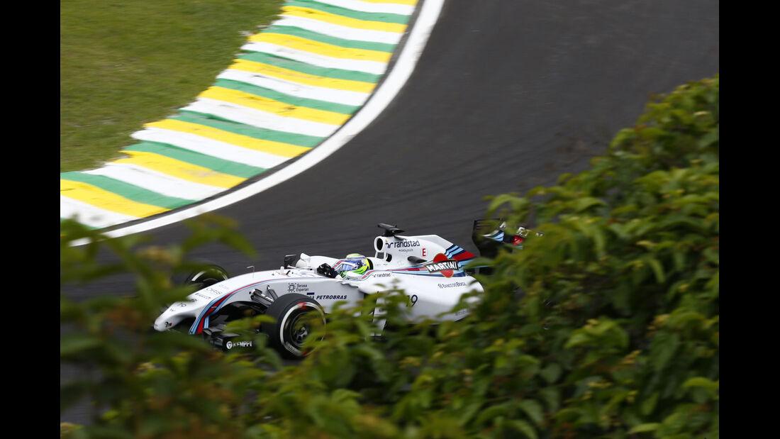 Formel 1 - Saison 2014 - GP Brasilien - Massa - Williams