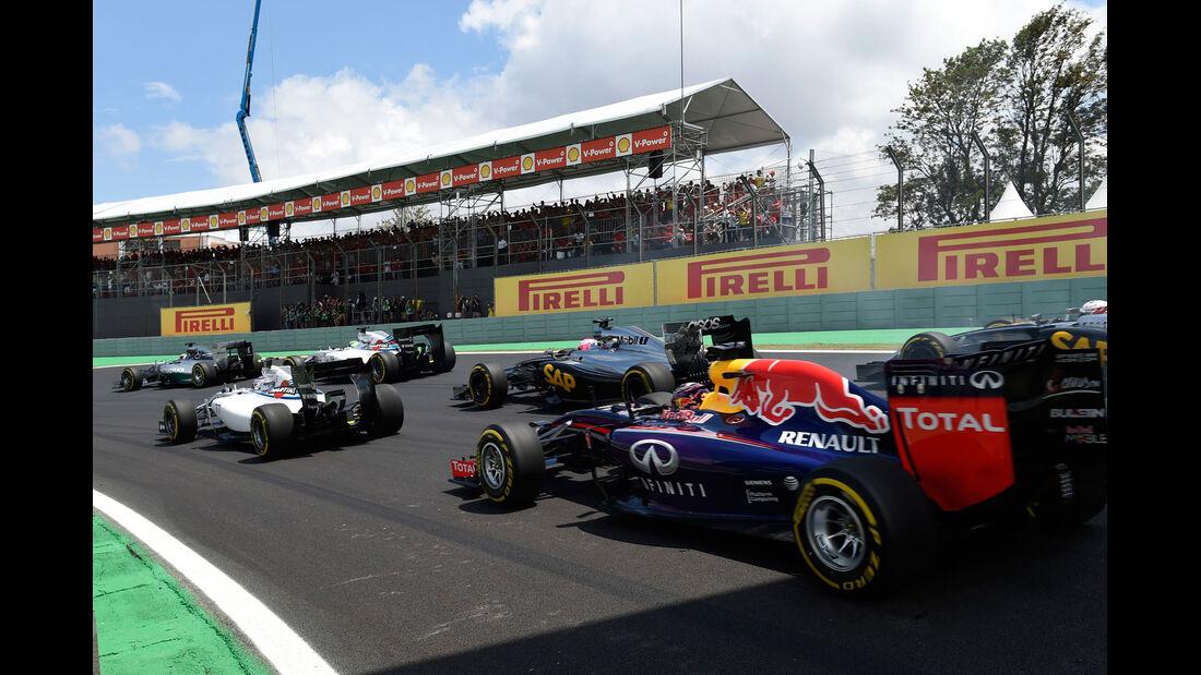 Formel 1 - Saison 2014 - GP Brasilien - Start