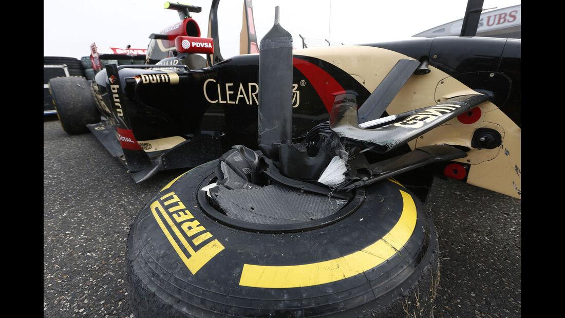 Formel 1 - Saison 2014 - GP China - Maldonado - Lotus