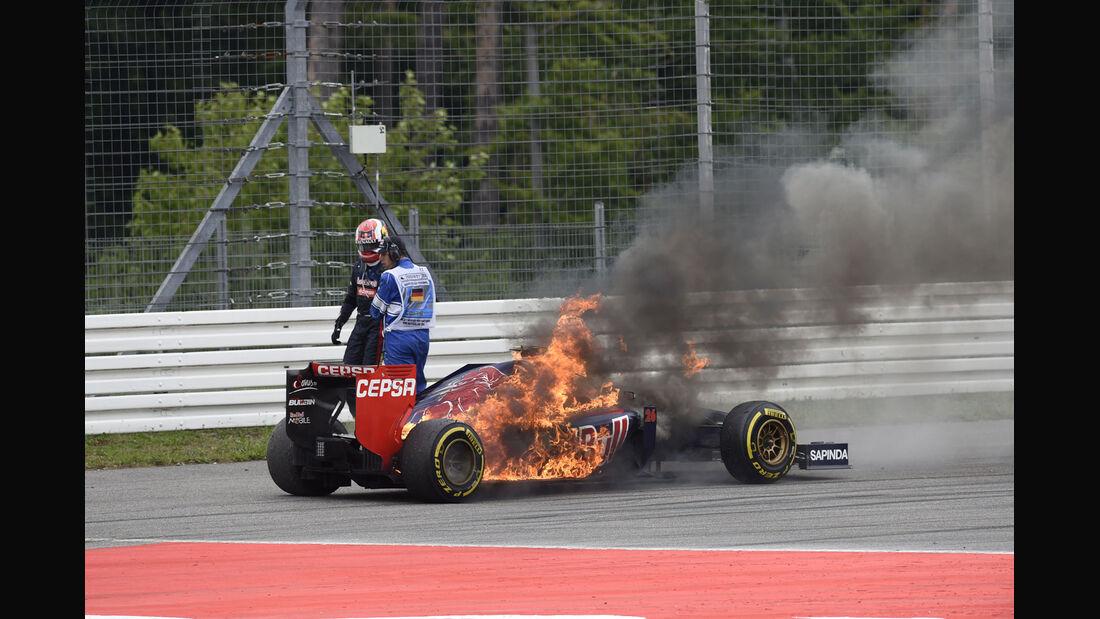 Formel 1 - Saison 2014 - GP Deutschland - Kvyat - Toro Rosso