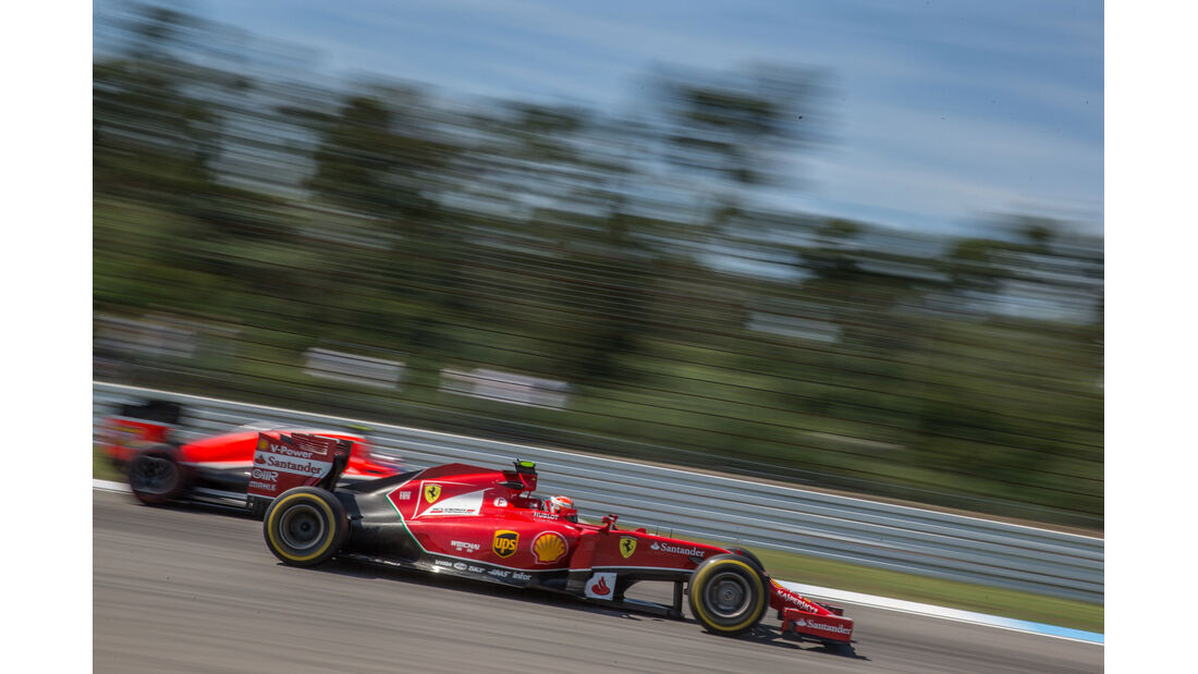 Formel 1 - Saison 2014 - GP Deutschland - Räikkönen