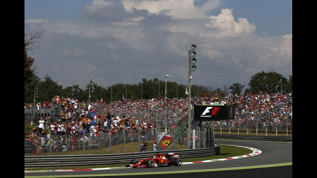 Formel 1 - Saison 2014 - GP Italien - Alonso - Ferrari