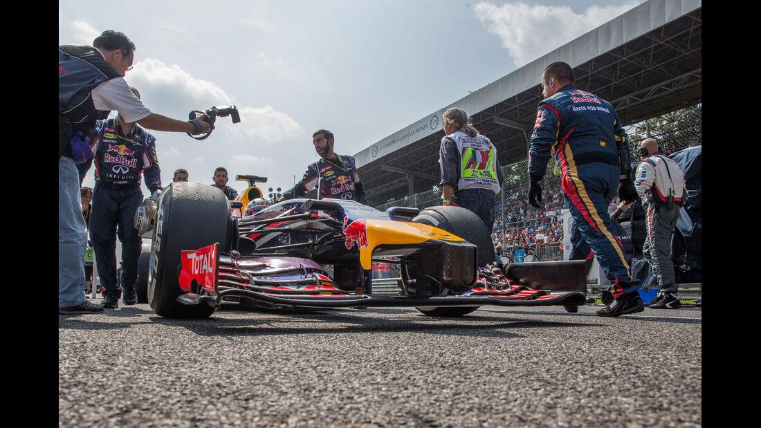 Formel 1 - Saison 2014 - GP Italien - Vettel - Red Bull
