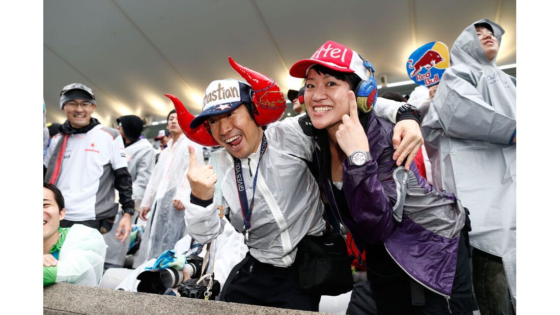 Formel 1 - Saison 2014 - GP Japan - Fans