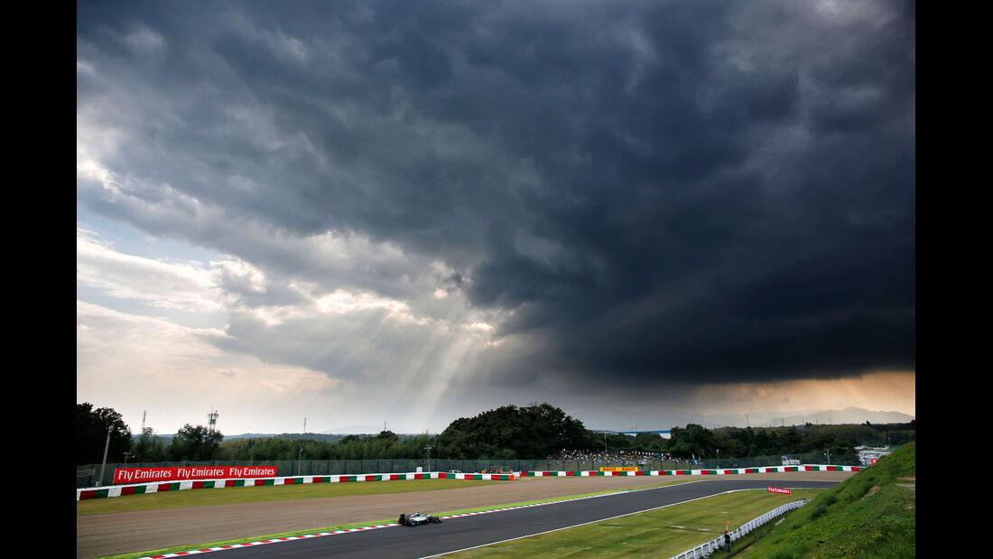Formel 1 - Saison 2014 - GP Japan - Rosberg - Mercedes