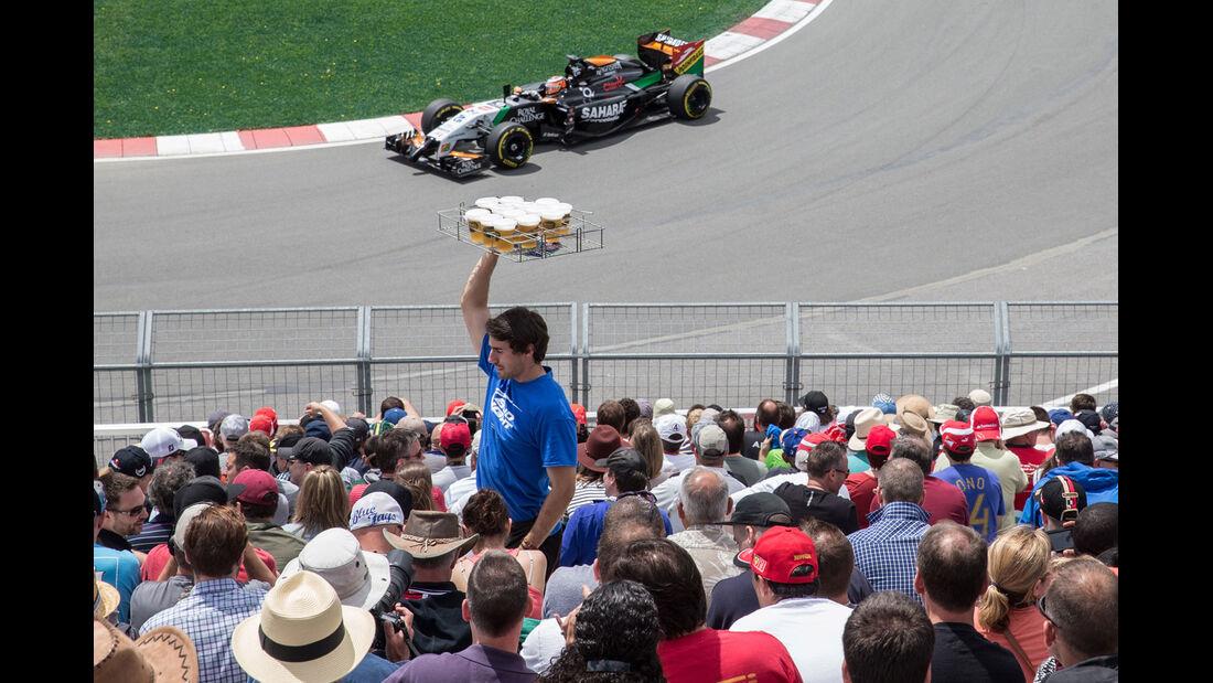 Formel 1 - Saison 2014 - GP Kanada - Hülkenberg - Force India