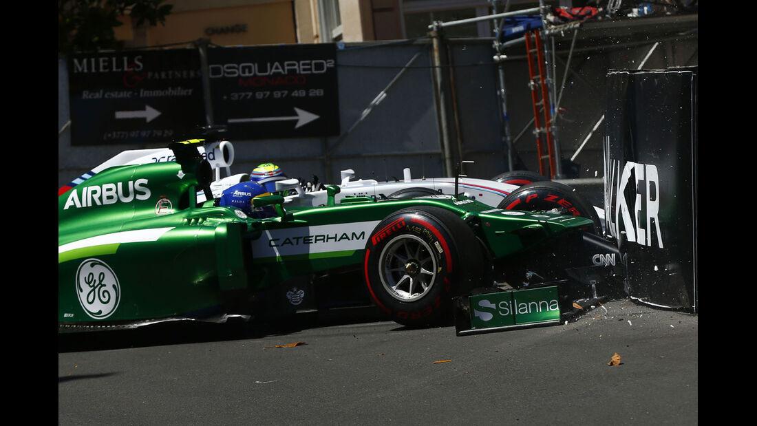 Formel 1 - Saison 2014 - GP Monaco - Ericsson - Caterham - Massa - Williams