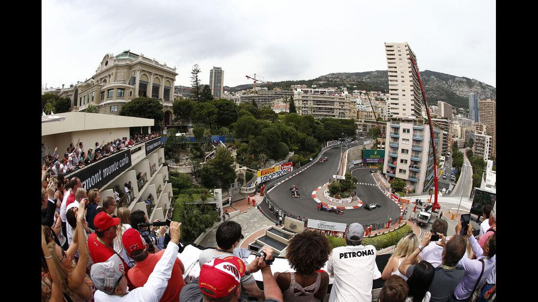 Formel 1 - Saison 2014 - GP Monaco - Haarnadel