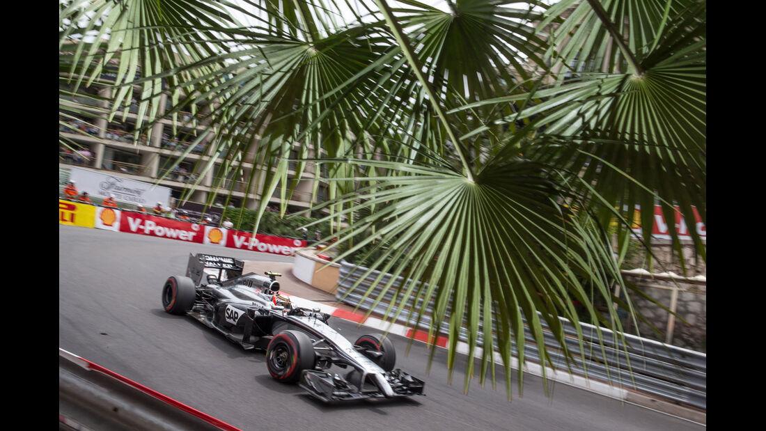 Formel 1 - Saison 2014 - GP Monaco - Magnussen - McLaren