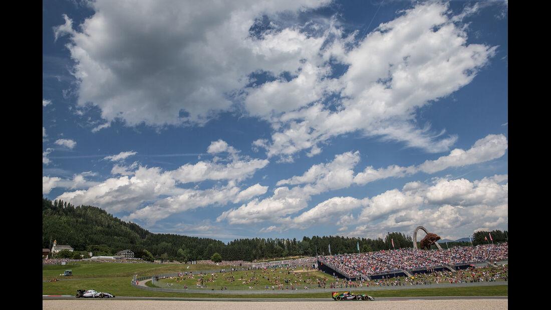Formel 1 - Saison 2014 - GP Österreich - Perez - Massa