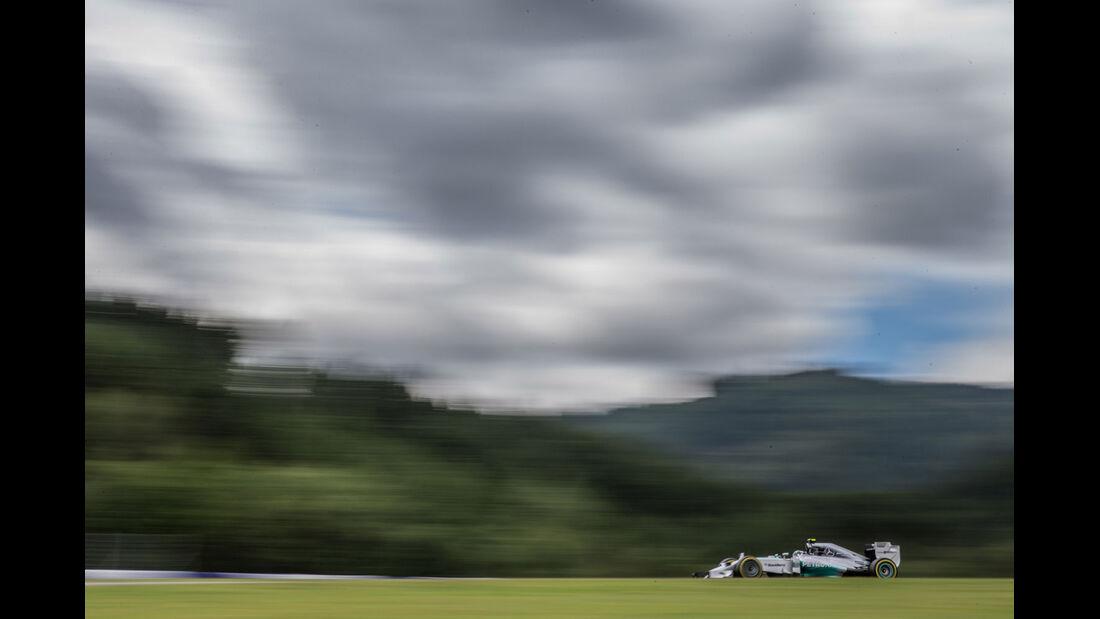 Formel 1 - Saison 2014 - GP Österreich - Rosberg - Mercedes