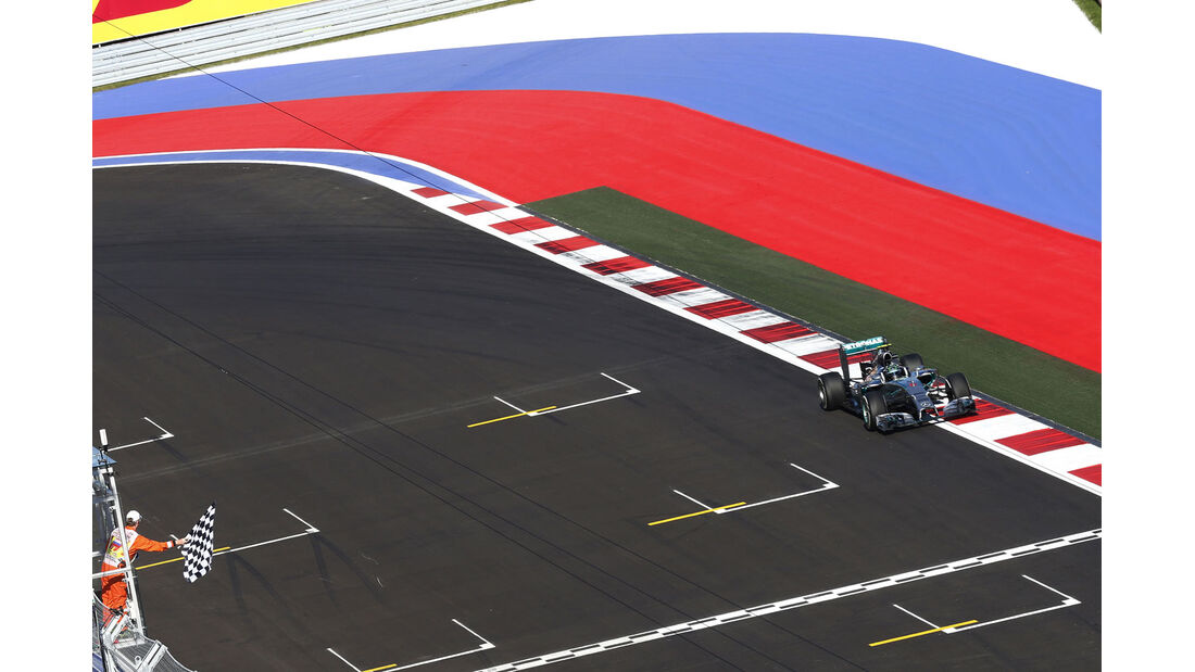 Formel 1 - Saison 2014 - GP Russland - Rosberg - Mercedes