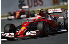 Formel 1 - Saison 2014 - GP Spanien - Räikkönen - Ferrari