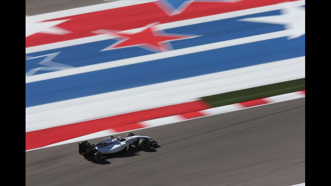 Formel 1 - Saison 2014 - GP USA - Bottas - Williams