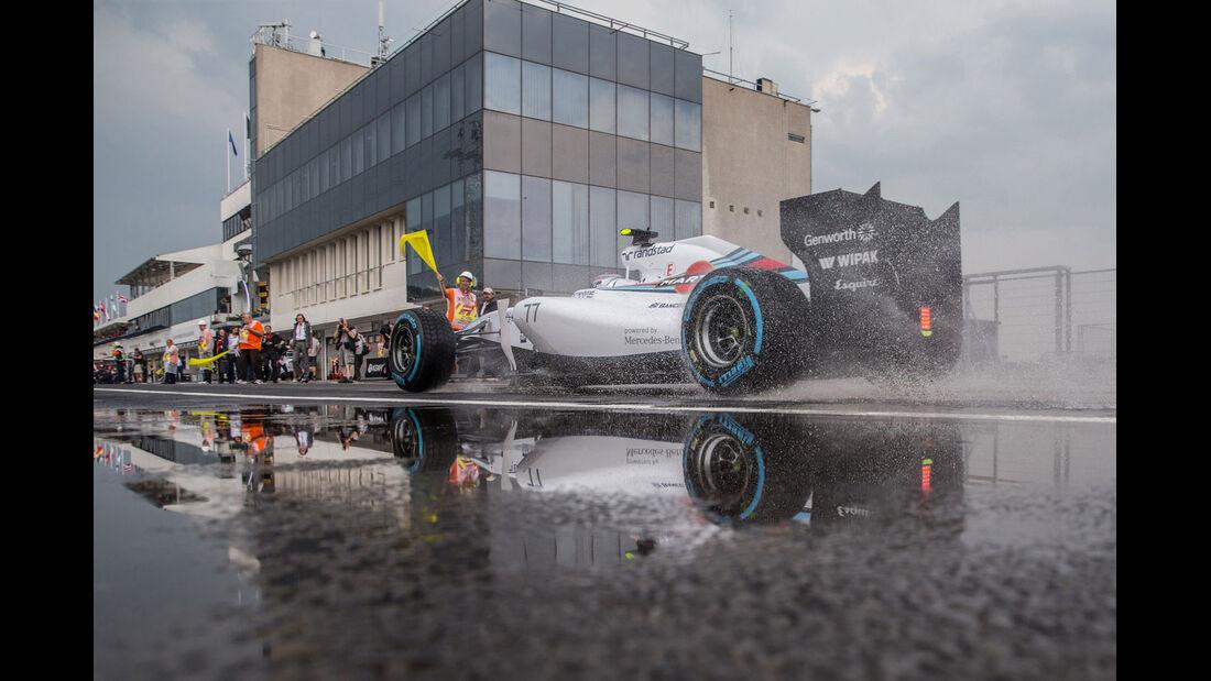 Formel 1 - Saison 2014 -  GP Ungarn - Bottas - Williams