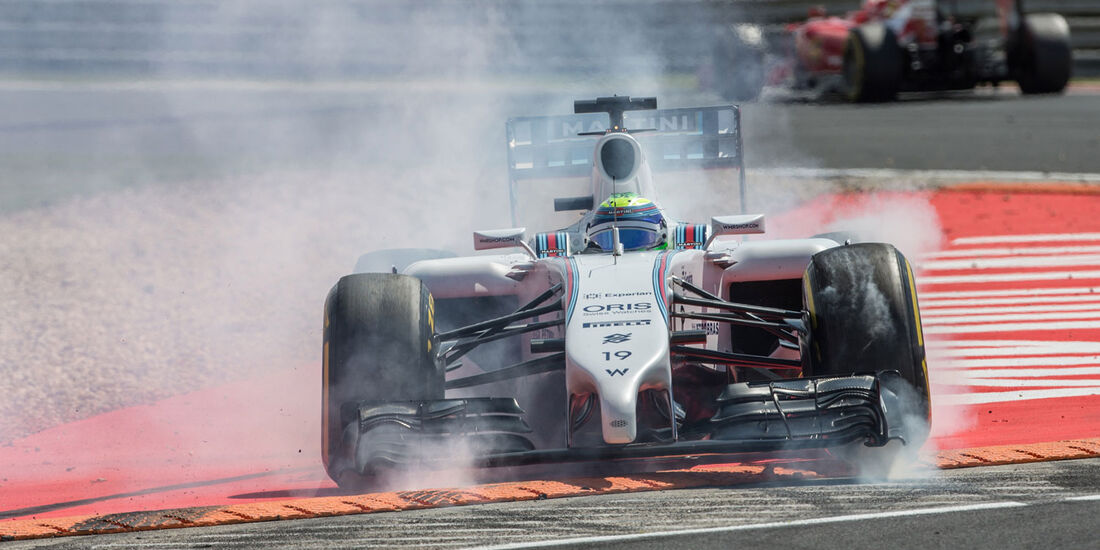Formel 1 - Saison 2014 - GP Ungarn - Massa - Williams