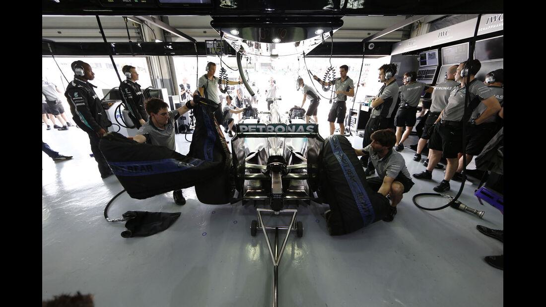 Formel 1 - Saison 2014 - Mercedes
