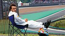 Formel 1 - Saison 2015 - Fernando Alonso - McLaren - GP Brasilien 2015